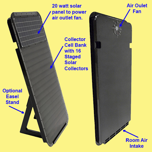 Solar Air Heaters For Winter Heating